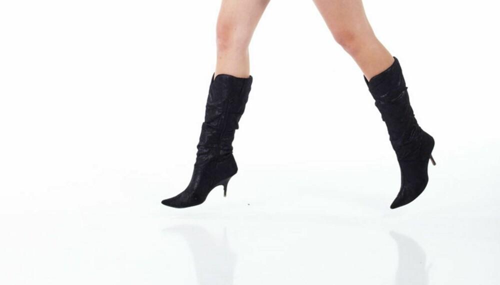 GÅ INN SKOENE: - Et alternativ er å bruke skoene i to- tre timer en gang eller to før du vet at du skal bruke dem over lengre tid og gå langt, sier Silje Brøter Olsen.