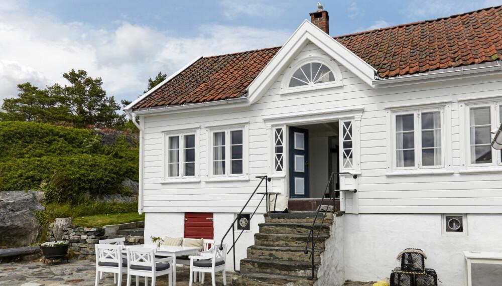 ÅKERØYA: Familien på fire elsker å tilbringe somrene på hytta på Åkerøya, Sørlandet.