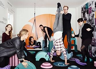 VENNER OG KOLLEGER: bObles har til sammen 13 ansatte. Søstrene sier de har et usedvanlig godt arbeidsmiljø. FOTO: bObles.