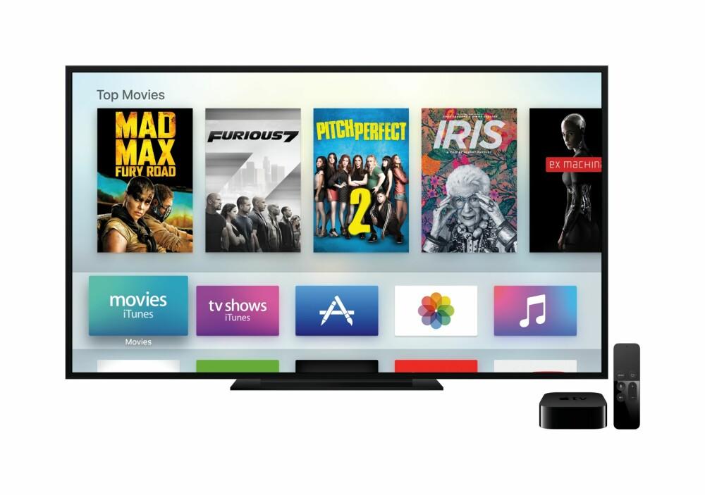 FILM: Nye Apple TV skal gi deg både film, TV-serier og spill rett på TV-skjermen.