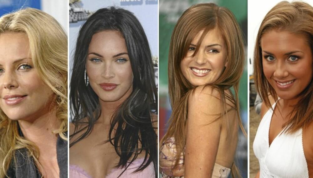 Verdens vakreste - finale: Charlize Theron, Megan Fox, Isla Fisher og Tone Damli Aaberge