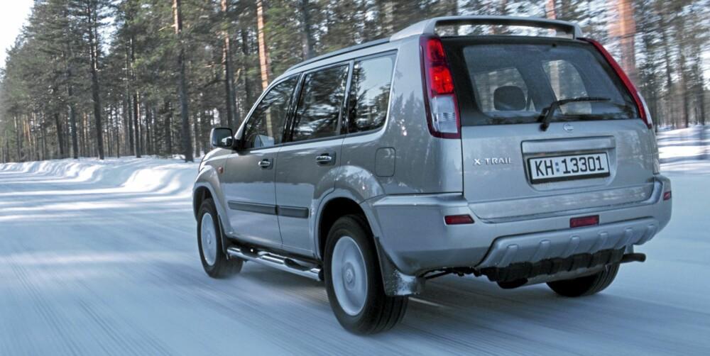 Nissan X-Trail: Var spennende da den kom og er en av de rommeligste SUV-ene fra tidlig 2000-tall. Ikke helt feilfri i Dekras bruktbilundersøkelse.