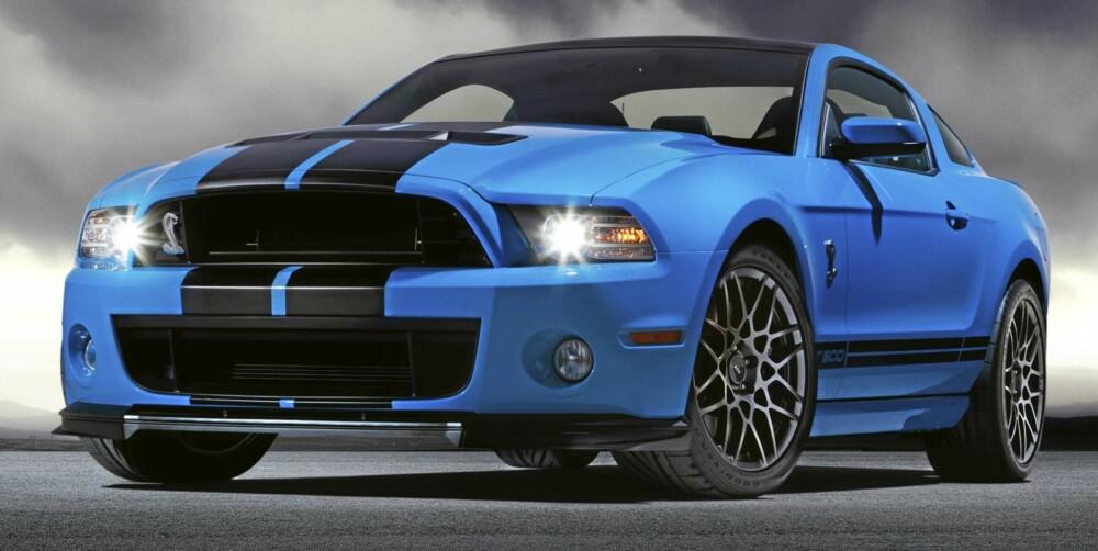 UNDER: 5,8 liters V8 har blitt forsynt med en større turbolader.