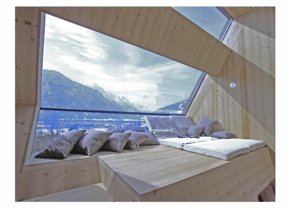 UTSIKT: De smarte vinduene gir utsikt så det holder.