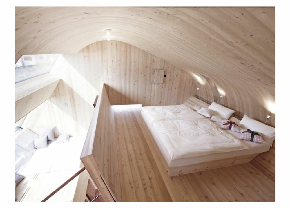 SOV: Hemsen huser soverommene.