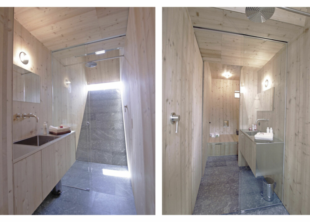 DUSJ: Ta deg en dusj på hemsen, badet (med WC) ligger ved soverommene.
