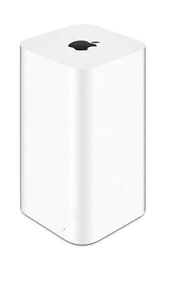 Apple AirPort Extreme, også denne i AC1750-klassen, har tilsvarende høyreist design og en oppstilling av interne antenner slik som D-Link.