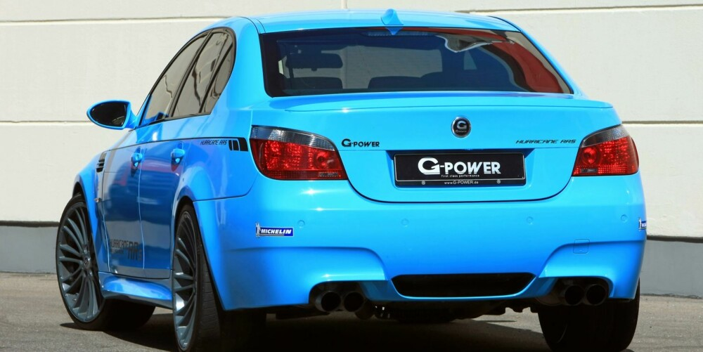 RASK: G-Power feirer sin hundrede Hurricane-modell med jubileumsmodellen G-Power M5 Hurricane RRs. FOTO: G-Power