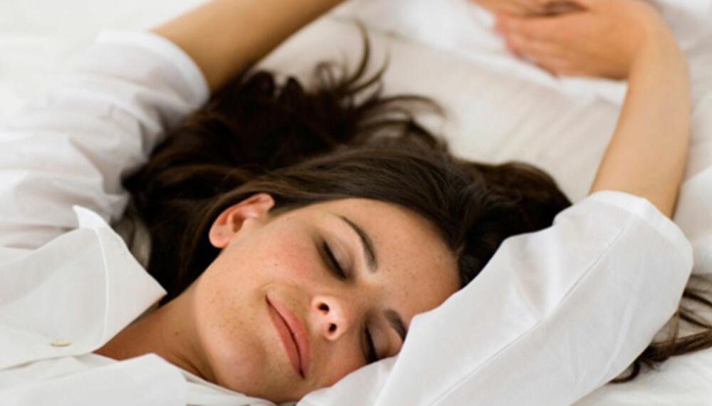 SKJØNNHETSSØVN: Ekspertene har talt: Du blir penere av å sove godt.