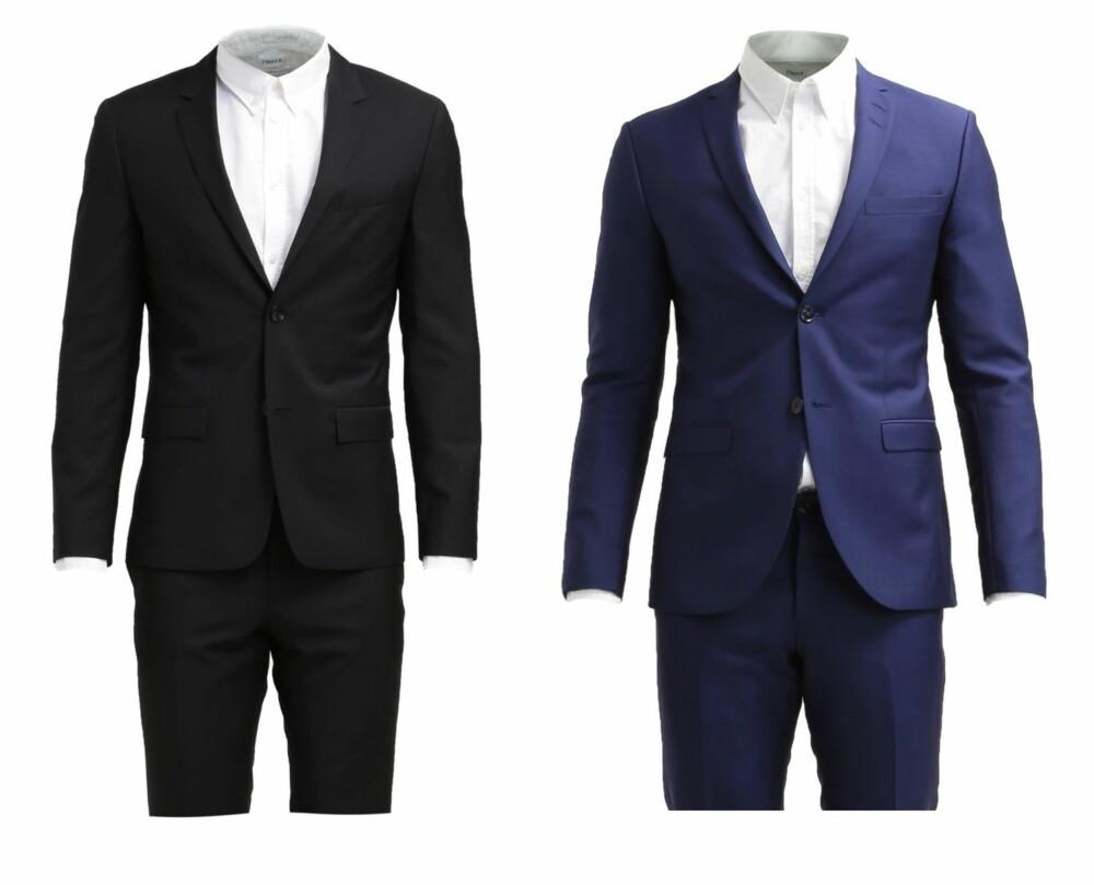 DRESS: Calvin Klein Tate B Paris B Fitted Dress Perfect Black, kr 4695. Tiger of Sweden JIL, Dress Indian Blue, kr 5495.