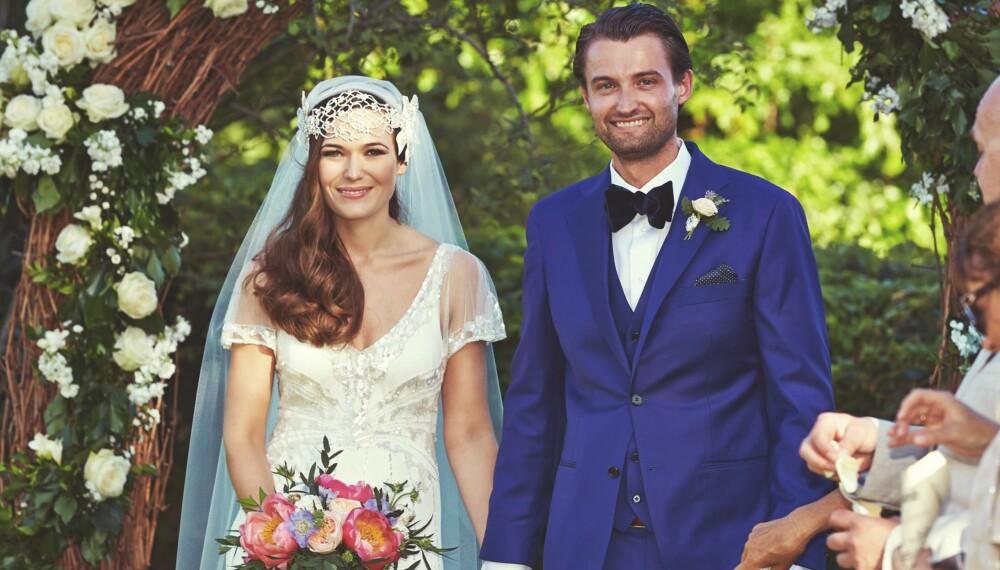 ITALIENSK BRYLLUP: Elisabeth og Torer ønsket seg et intimt og romantisk bryllup som varte over flere dager, og flyttet like gjerne hele bryllupsfesten til Toscana i Italia.