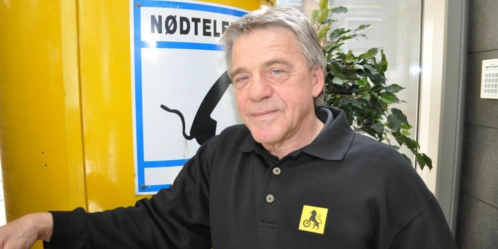 UNDER 50 000: Kommunikasjonsrådgiver i NAF, Jan Ivar Engebretsen, mener de som har biler som er verdt mindre enn 50 000 kroner bør droppe kaskoforsikringen. FOTO: NAF