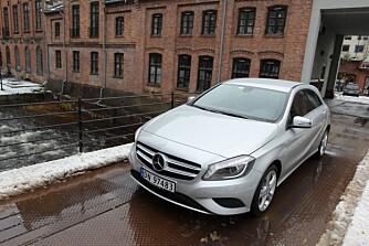 VINNDERKANDIDAT: Mercedes-Benz A-klasse har tatt verden med storm. FOTO: Petter Handeland