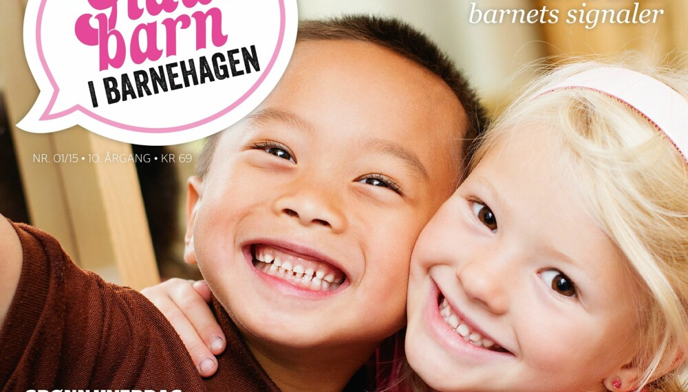 Glade barn i barnehagen er et spesialmagasin til foreldre med barn mellom 1-6 år.