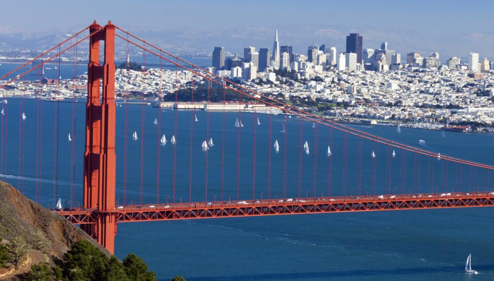 SAN FRANCISCO: Neste år er det flere destinasjoner enn noensinne å velge mellom, med direkteruter til blant annet San Francisco og Venezia.