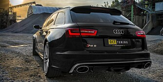 RASK: Audi RS6 Avant fra O.CT Tuning. FOTO: O.CT Tuning