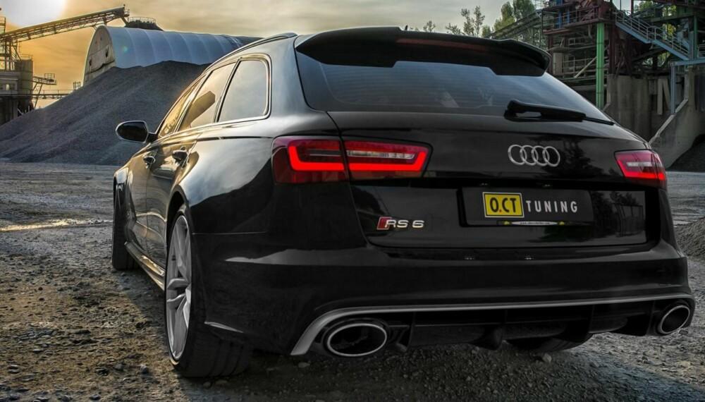 RASK: Audi RS6 Avant fra O.CT Tuning. FOTO: O.CT Tuning
