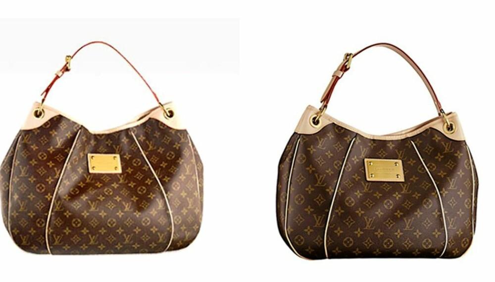 MEST KOPIERT: Louis Vuitton lett gjenkjennelige logomønster er kanskje det som er mest kopiert i hele verden. Klarer du å skille fake fra ekte?