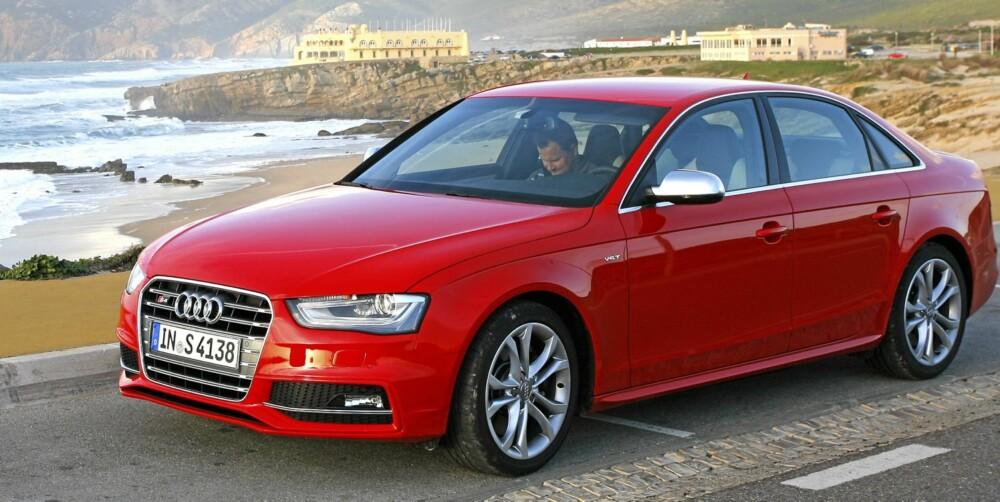 HEFTIG: Audi S4 blir en sjelden fulg i Norge.