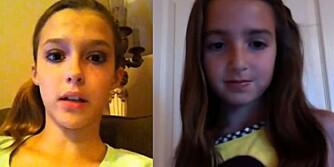 SKUMMEL TREND: Jenter (ofte helt ned i åtteårsalderen) snur seg til YouTube-kamerat og spør anonyme fremmede: «Er jeg pen eller stygg?».