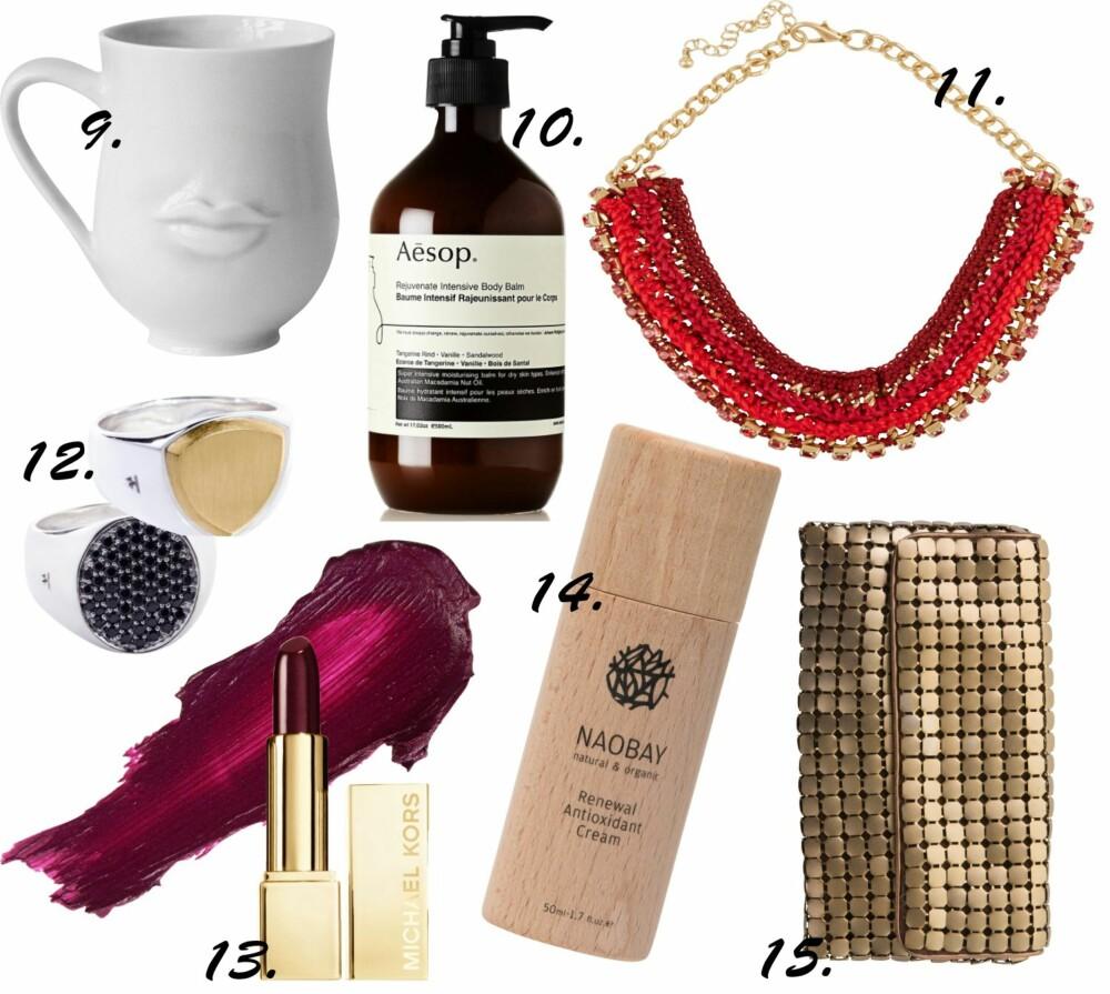 MOTERIKTIGE JULEGAVETIPS: Enhver fashionista vil bli glad for å finne en av disse syv julegavene under treet i år.