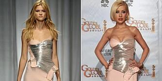 MODELL VS: KJENDIS: Hvem kler designerkjolen best?