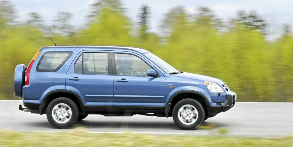 Honda CR-V fra 2002-2006 er en av de rommeligste brukte SUV-modellene.
