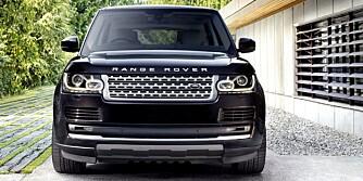 HYBRID: Nye Range Rover kommer som hybrid på tampen av 2013. Alle foto: Land Rover
