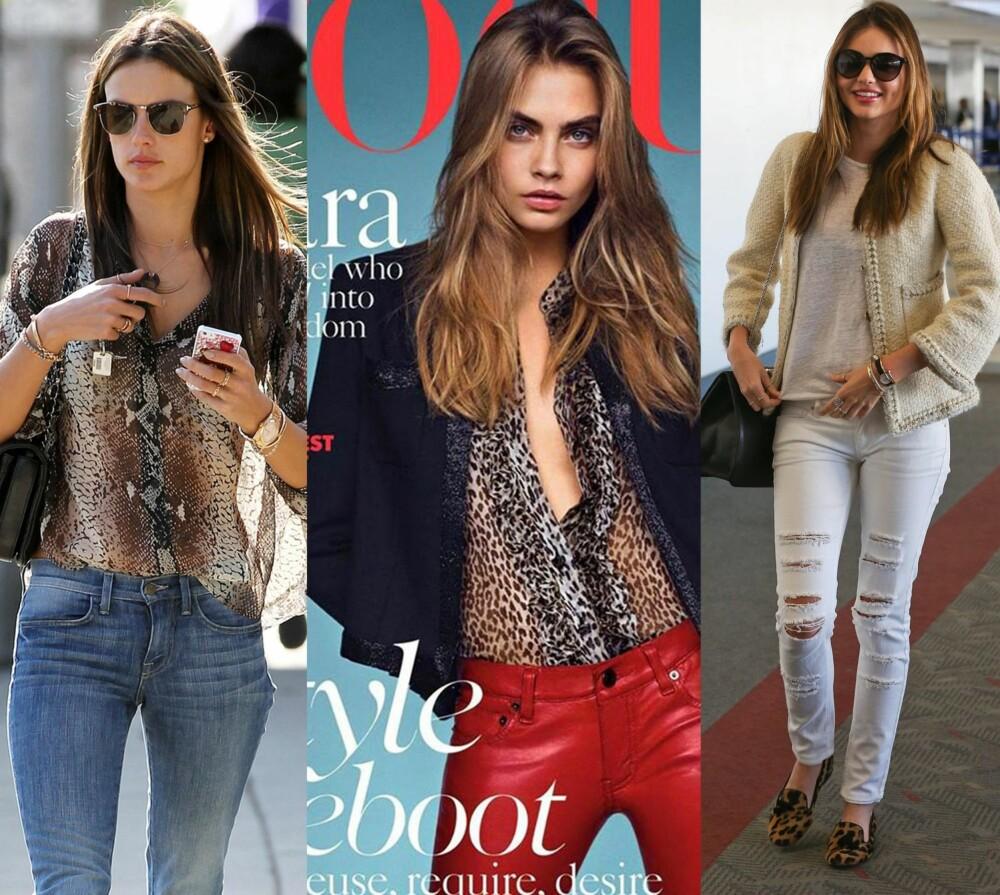 efeb16fe INSPO: Gjør som disse jentene, og kle deg i print. Fra venstre: