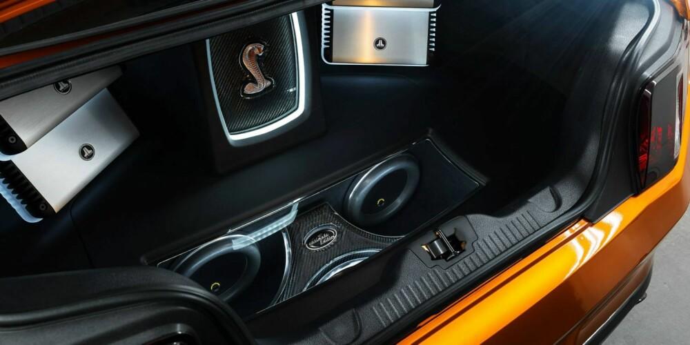 SOUNDMACHINE: Fra dette anlegget kan man spille Vårsøg på full guffe. FOTO: Ultimate Auto