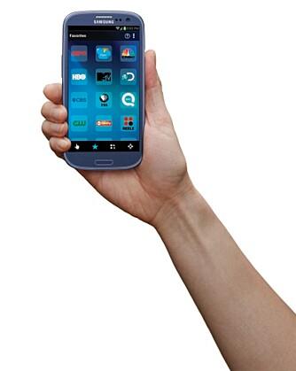 APP: Du kan også bruke en smartmobil til å styre anlegget ditt.
