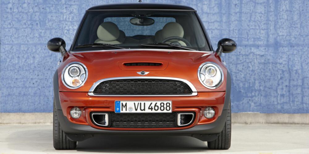 FORGJENGEN: 2010-modell Cooper S. FOTO: BMW AG