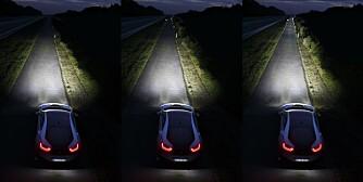 EFFEKTIVT: Laserlys helt til høyre. ILLUSTRASJON: photo@gschmied.de