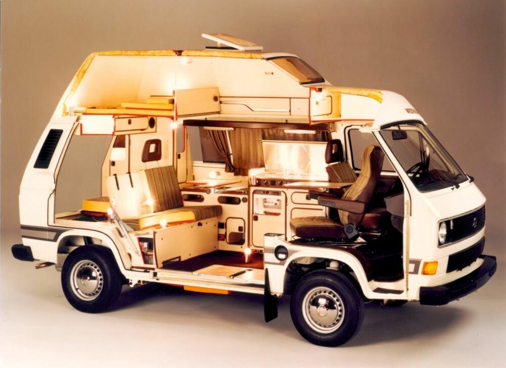 Ekstra De første campingbilene - Bobil PQ-86