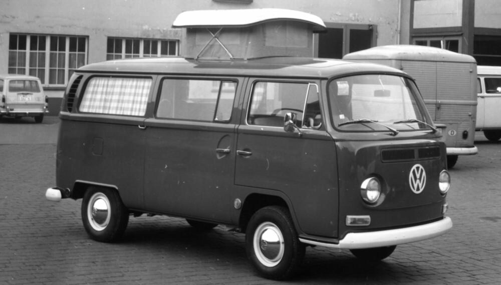 Wonderful De første campingbilene - Bobil KW-24
