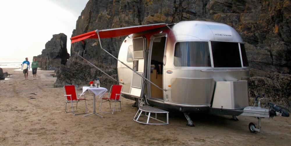 BELIGGENGHET: Naturskjønne omgivelser med tilgang til aktiviteter, kan bli stadig viktigere for campingnæringen. Foto: Newspress