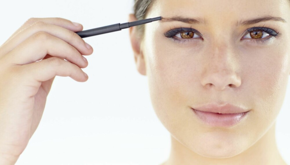 FINE ØYEBRYN: Markerte bryn rammer inn ansiktet og får deg til å virke mer våken og opplagt. Ja, napper du riktig, kan de til og med få deg til å se flere år yngre ut.