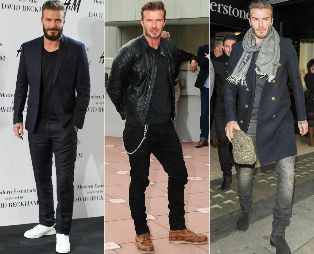 SHARP TAILORING: Både dressen, frakken og jeansen er veltilpasset - noe som gjør at han ser velkledd ut.