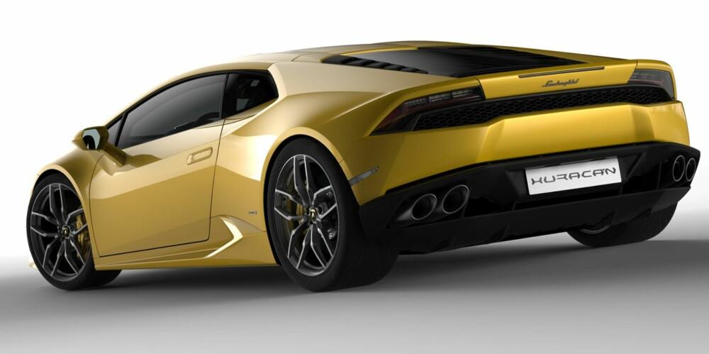 NY: Lamborghini Huracán. FOTO: Lamborghini