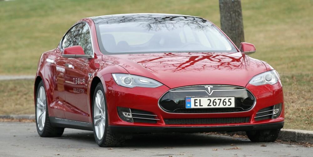 NORGESBIL: Tesla har både i år og i fjor vært blant Norges aller mest solgte biler.