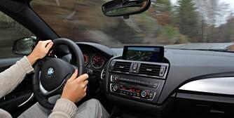 RASKERE: Seks av ti bilførere ligger som regel ti kilometer over fartsgrensen. Sju prosent innrømmer at de ofte ligger 20 kilometer over. FOTO: Terje Bjørnsen