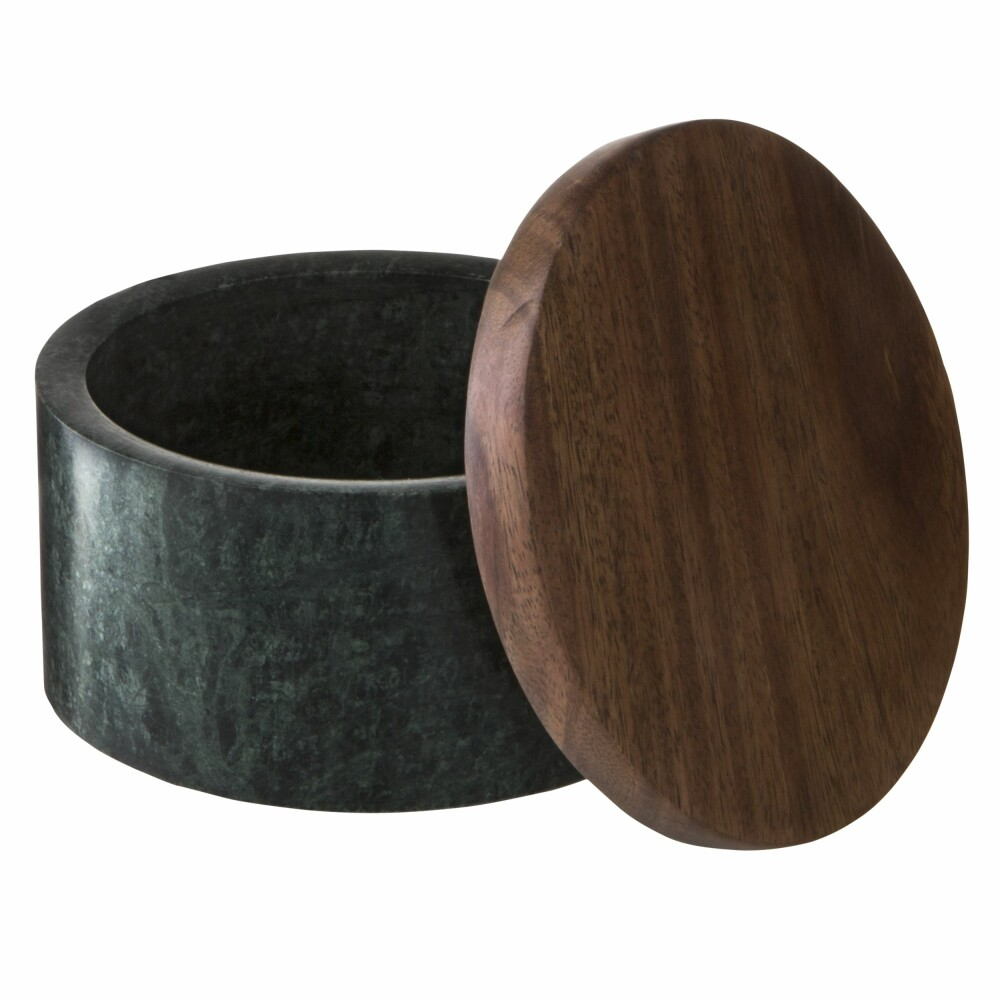 Marmorboks med lokk fra Granit, kr 399.
