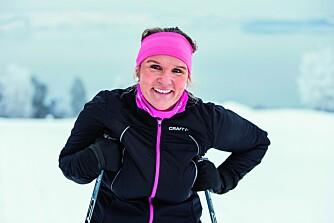ALT SITTER I HODET: Ann Mari fant lykkeformelen og gikk ned 26 kilo lettere. Resultatet er en mye sprekere dame!