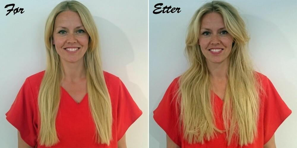 HVORDAN FÅ VOLUM I HÅRET: Ved hjelp av riktige produkter, og riktig mengde produkt, kan du lett skape volum i håret som holder lenge.