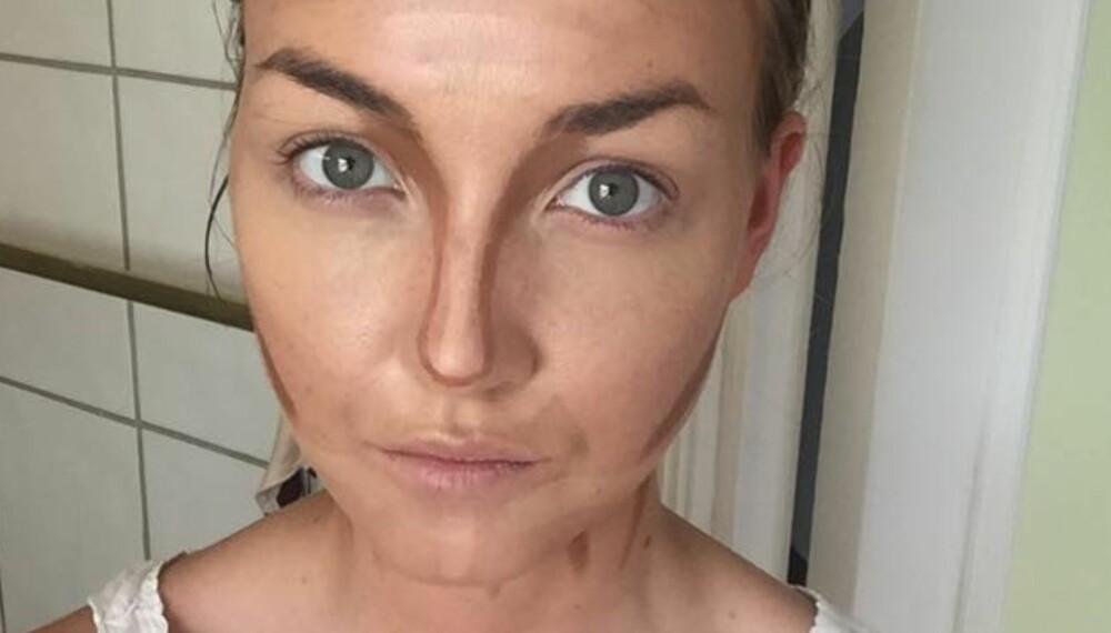FORM DITT EGET ANSIKT: Ved hjelp av litt concealer kan du forme ditt eget ansikt - akkurat slik du selv vil.