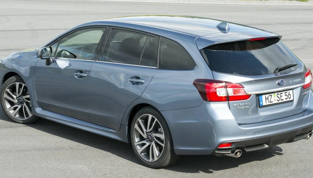 LEVORG: Subaru Levorg er en mindre, men sprekere erstatter for Legacy, og er ventet til Norge i september. Prisene er nå klare. FOTO: Subaru
