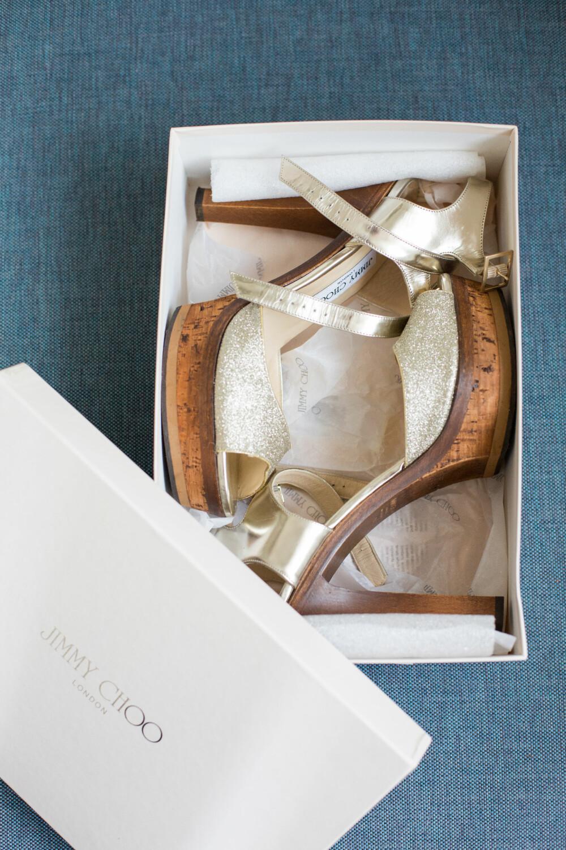 SKOSKATT: Disse skoene fra Jimmy Choo er de fineste Ingvill har, kanskje. Akkurat det er litt vanskelig å avgjøre.