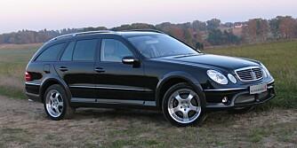 Mercedes E-klasse Kleemann
