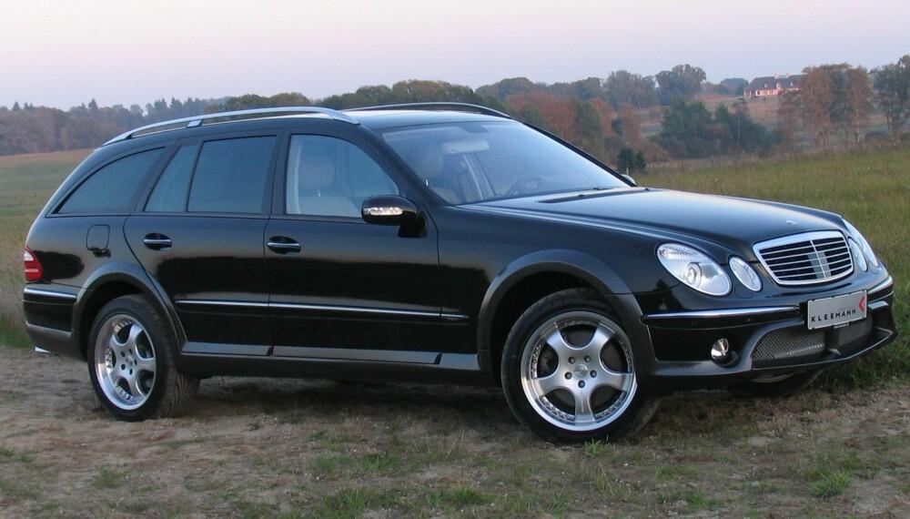 """ALLROAD: Den danske tuneren Kleemann gjorde en """"allroad""""-versjon av Mercedes E-klasse i 2005. FOTO: Kleemann"""