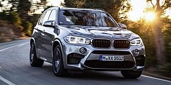 EKSTREM: Nye BMW X5 M kommer med BMWs M TwinPower Turbo-teknologi med variabel geometri og TwinScroll biturbo-lading. FOTO: BMW